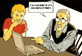 """Partners"" comic book by European Commission: GrandPa on PC"